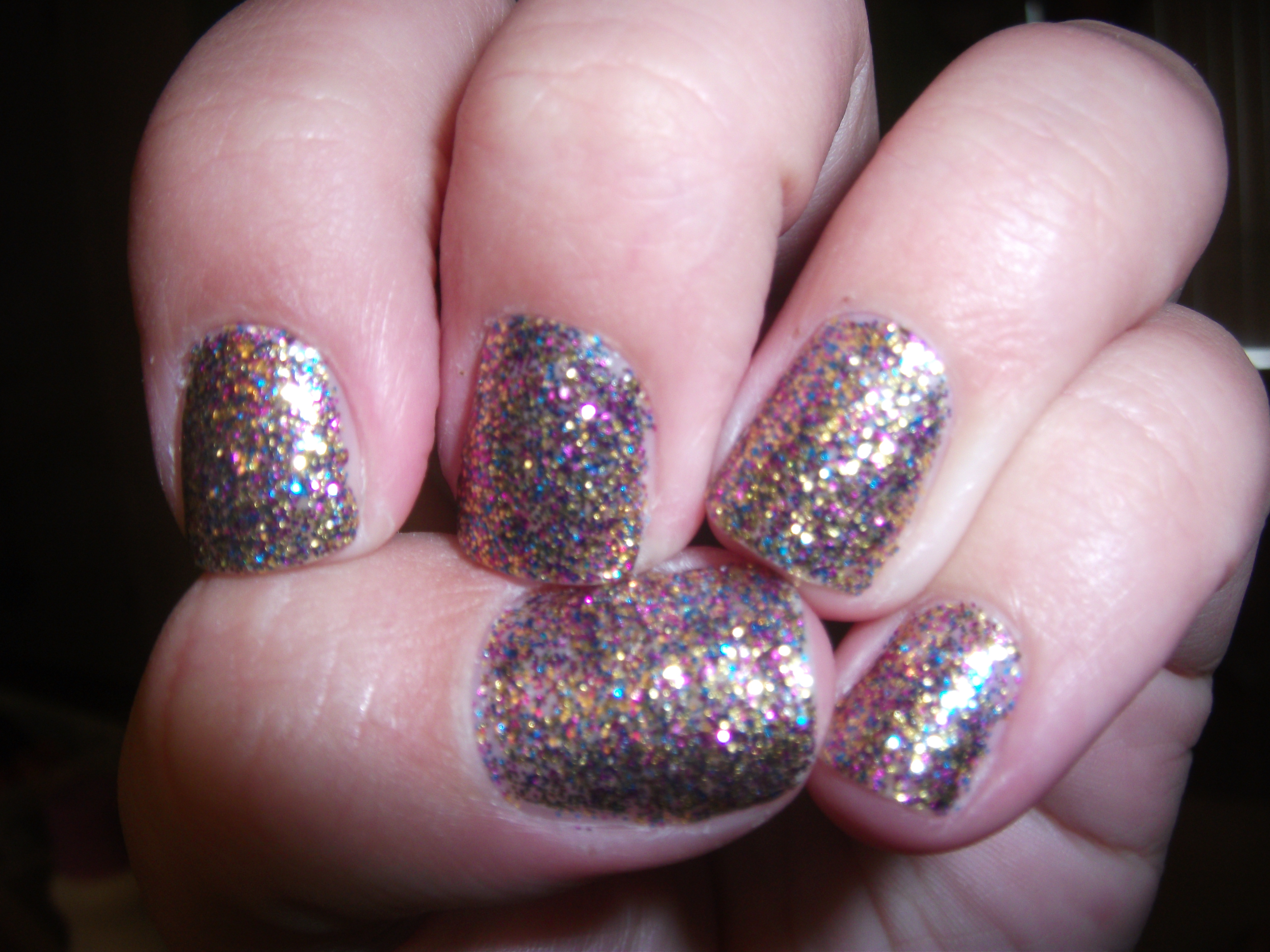 opi sparklelicious my favorite glitter review
