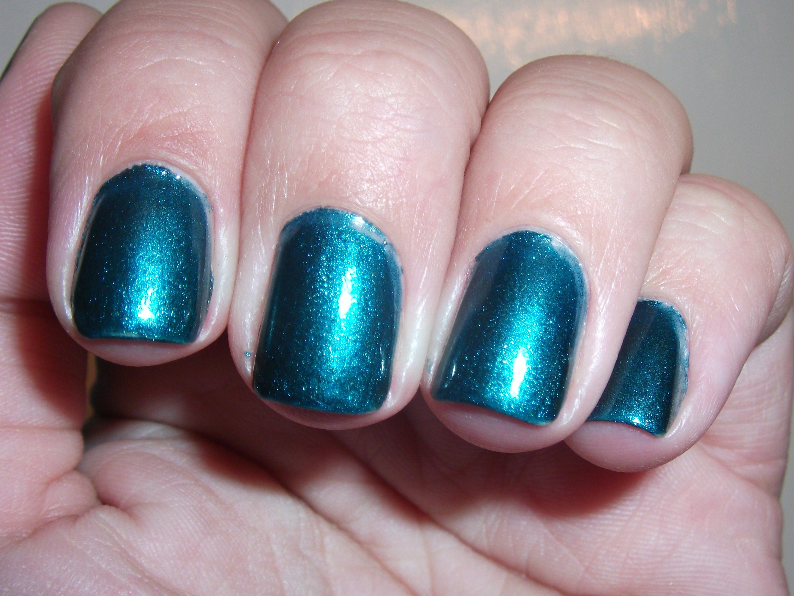 LA Girl Metal Metallic Nail Polish Deep Sea Mica (review) | Polish ...