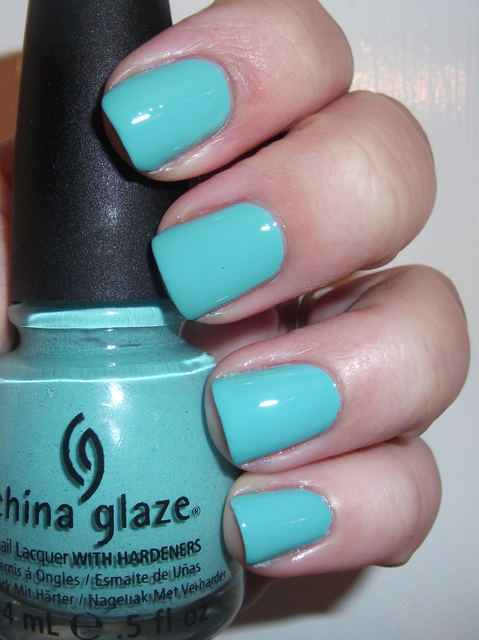 """China Glaze Presenta Crakle Glaze: China Glaze """"For Audrey"""" Review"""