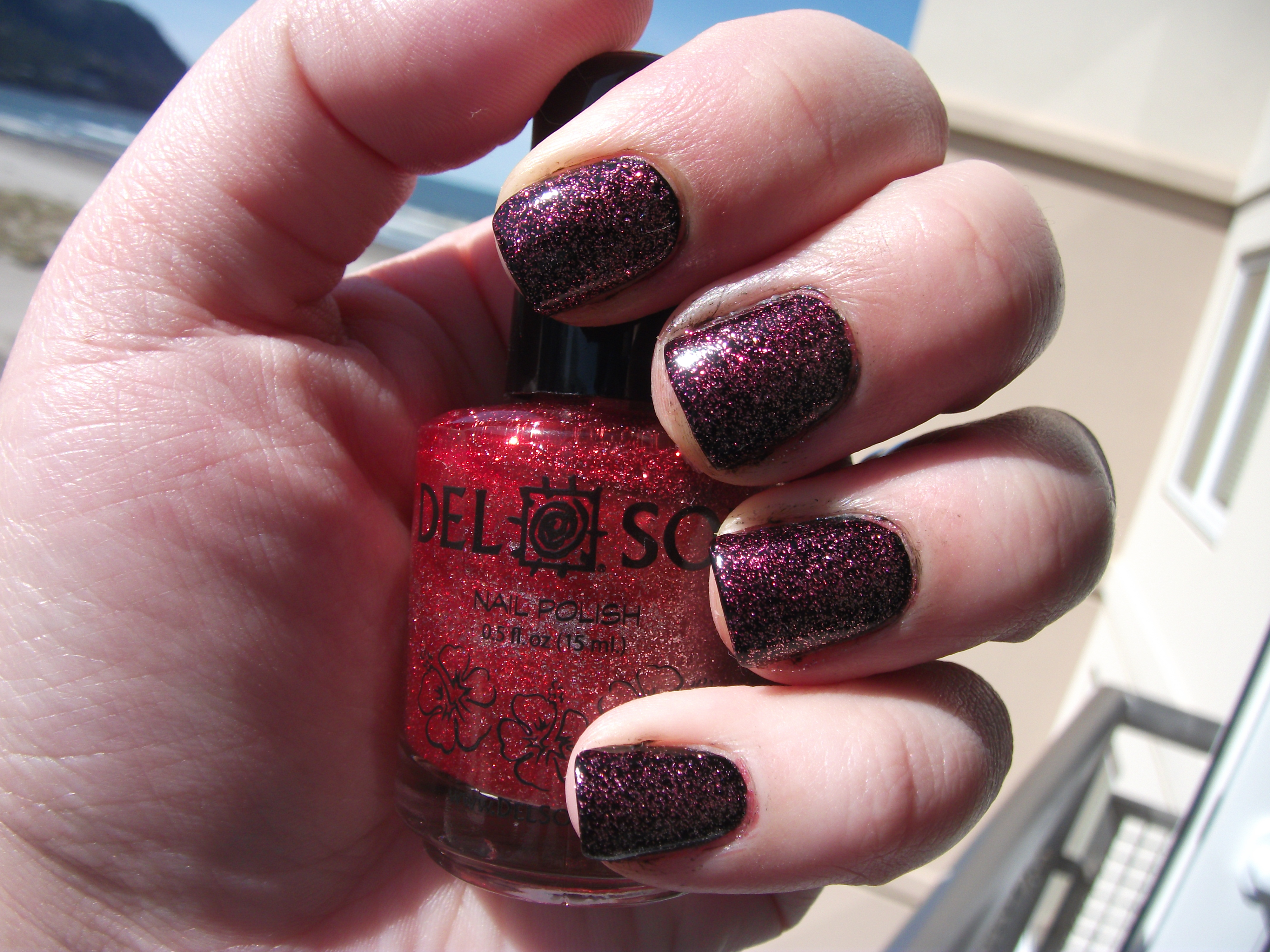 Del Sol Ruby Slippers = Color-Changing Nail Polish!!!! :D | Polish ...
