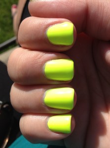 Ahhh Here S A Good Neon Orly Glowstick Review Polish Me Please