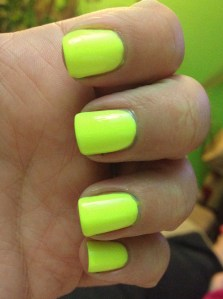 Ahhh here's a good neon!! Orly Glowstick Review