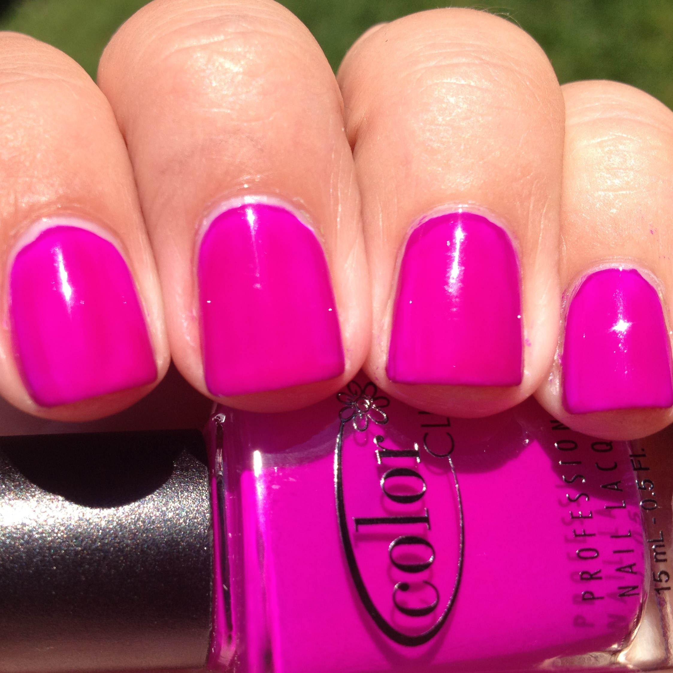 Color Club Mrs. Robinson Swatch And Review