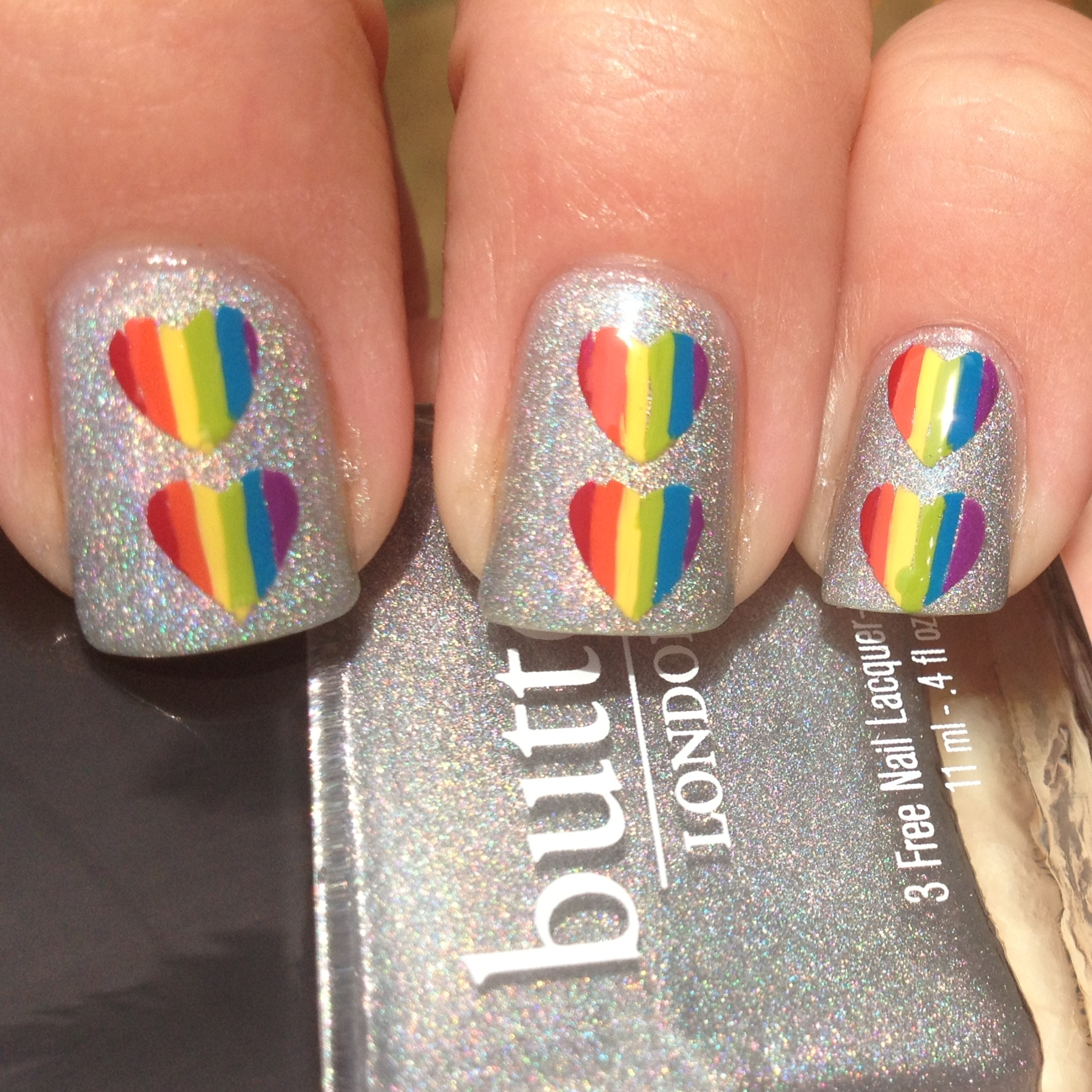 31 Inspired Days of Nail Art- Rainbow Nails | Polish Me, Please!