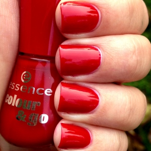 Essence Flame Fatal Swatch and Review