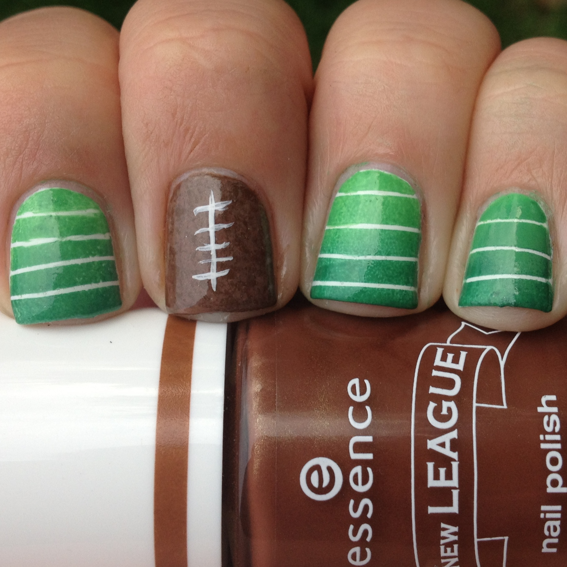 Football Nails Polish Me Please
