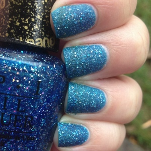 OPI Liquid Sand Get Your Number Swatch and Review