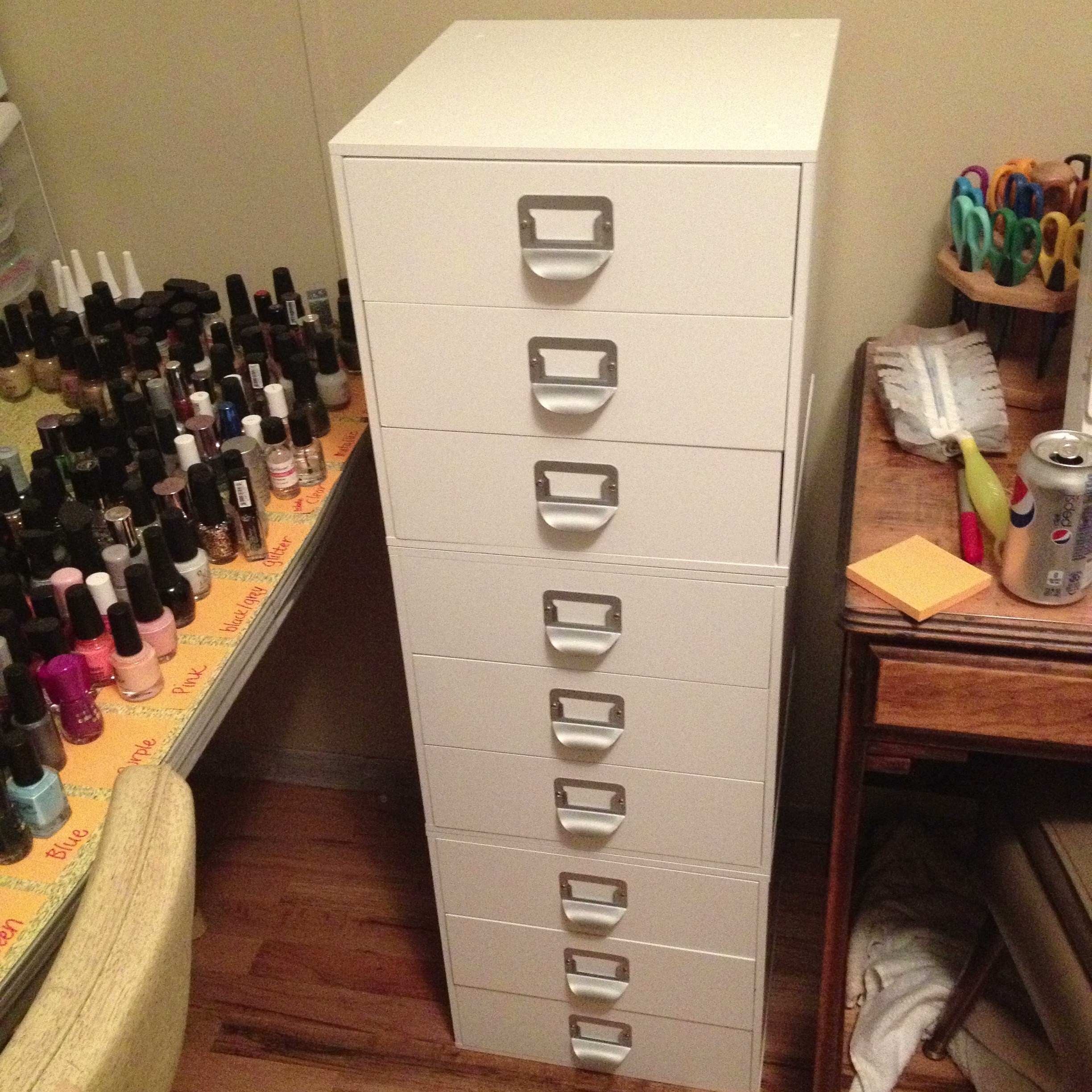 I Swapped Out My Craft Storage Drawers And The Tower For My Three Drawer  Cubes :