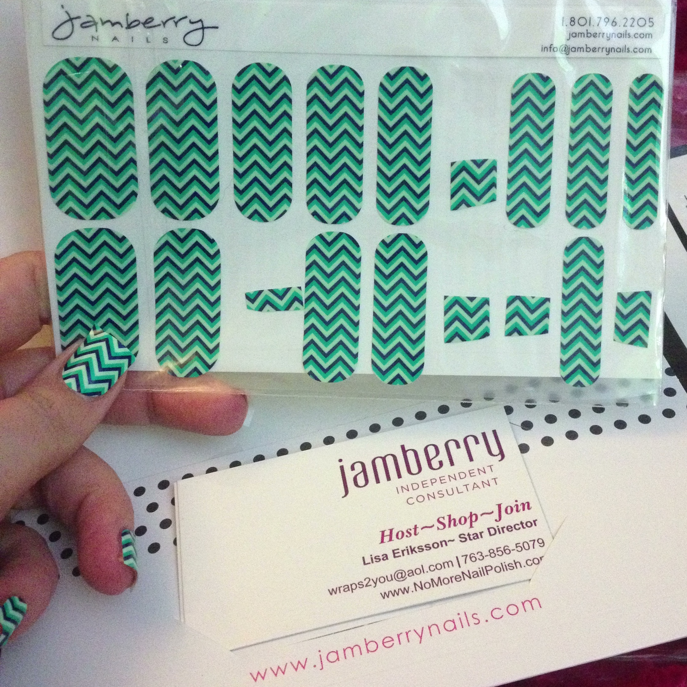 Jamberry Nail Strips Review | Polish Me, Please!
