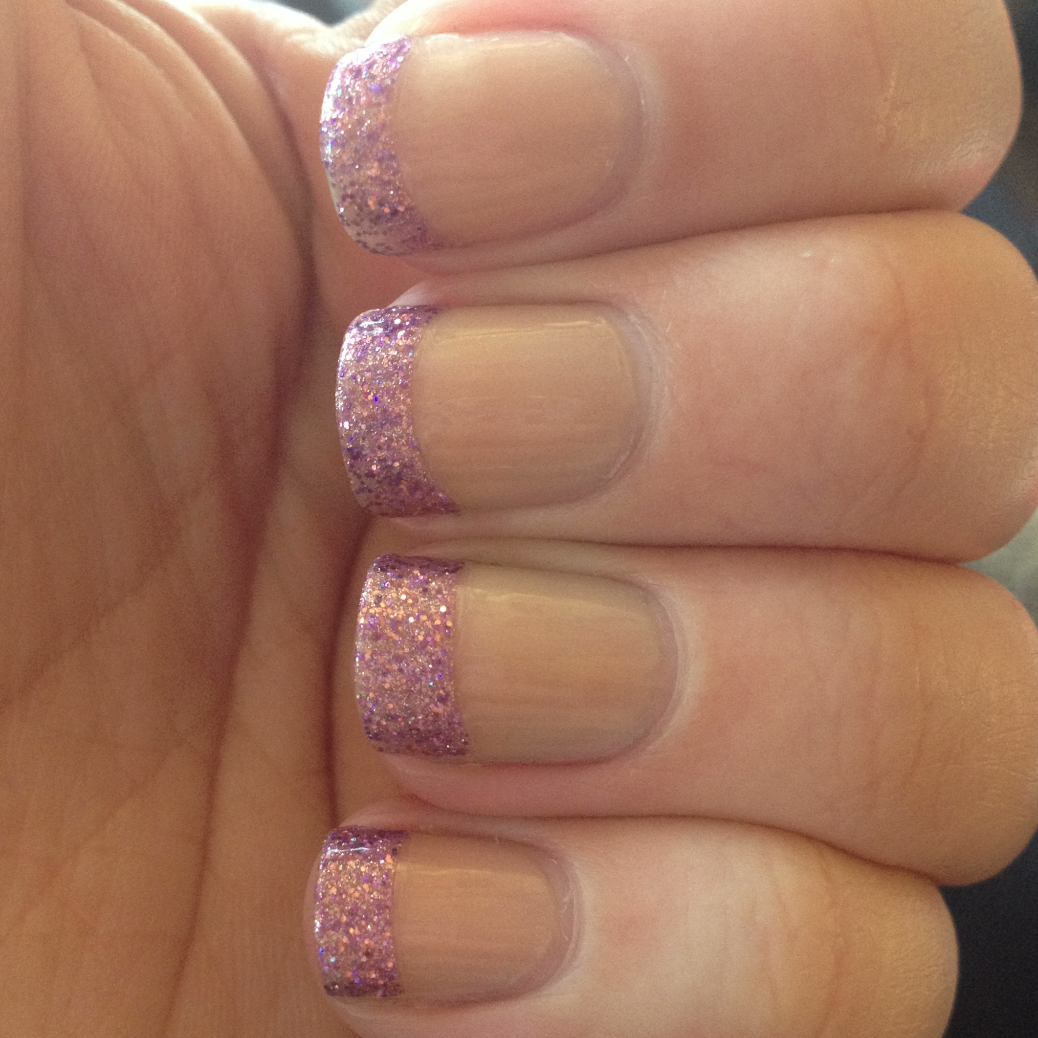 Effects French Tip Nail