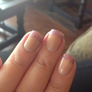 SallyHansen Salon Effects French Mani Pink Macaroon