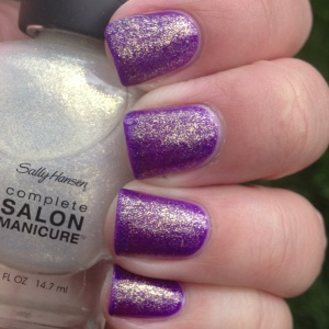 Layer it over ChG Creative Fantasy for a Zoya Daul/ Julep Julia dupe only brighter!