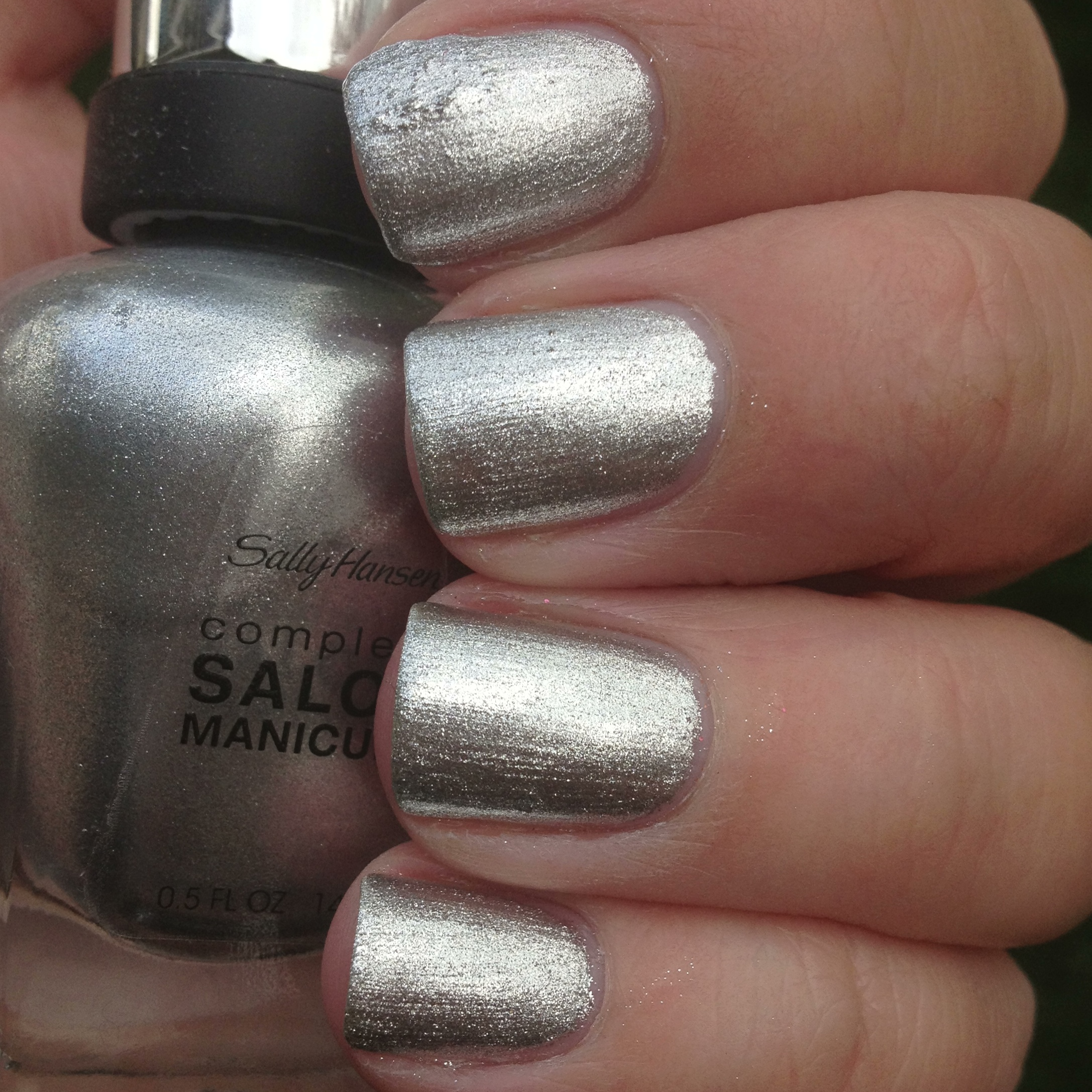 sally hansen complete salon manicure hi ho silver gilty party polish me please. Black Bedroom Furniture Sets. Home Design Ideas