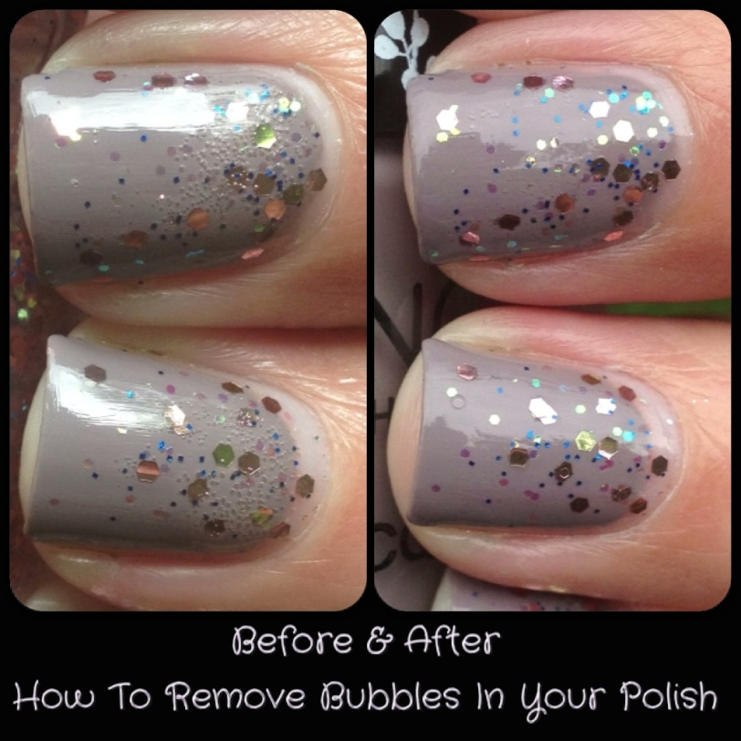 How To Remove Bubbles In Your Nail Polish