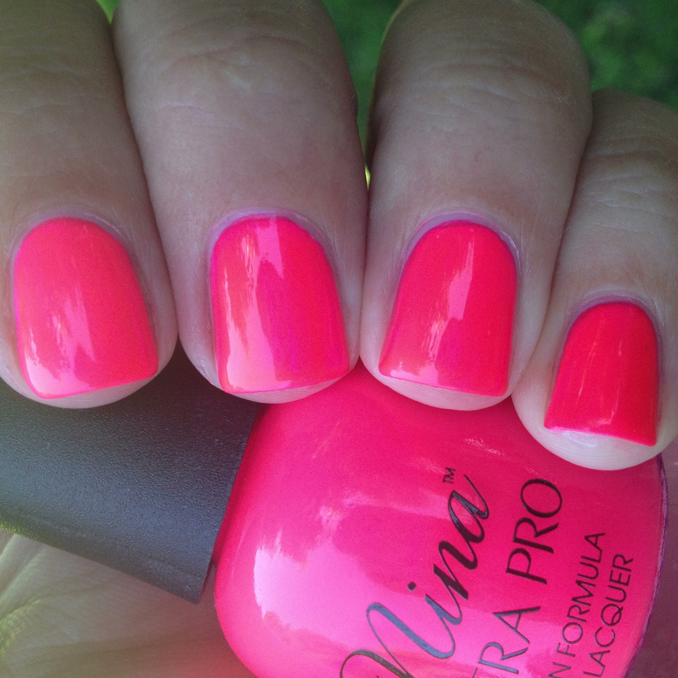 Nina Ultra Pro Punki Pink Swatch And Review | Polish Me, Please!